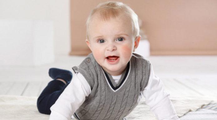 bebe photo sourire