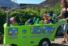 poussette minibus electrique