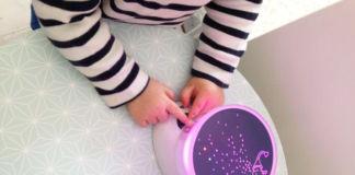 test-veilleuse-project-light-babymoov