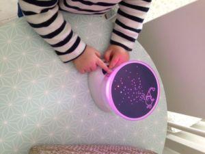 test veilleuse babymoov project light