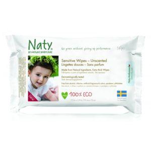 Lingettes bio Naty